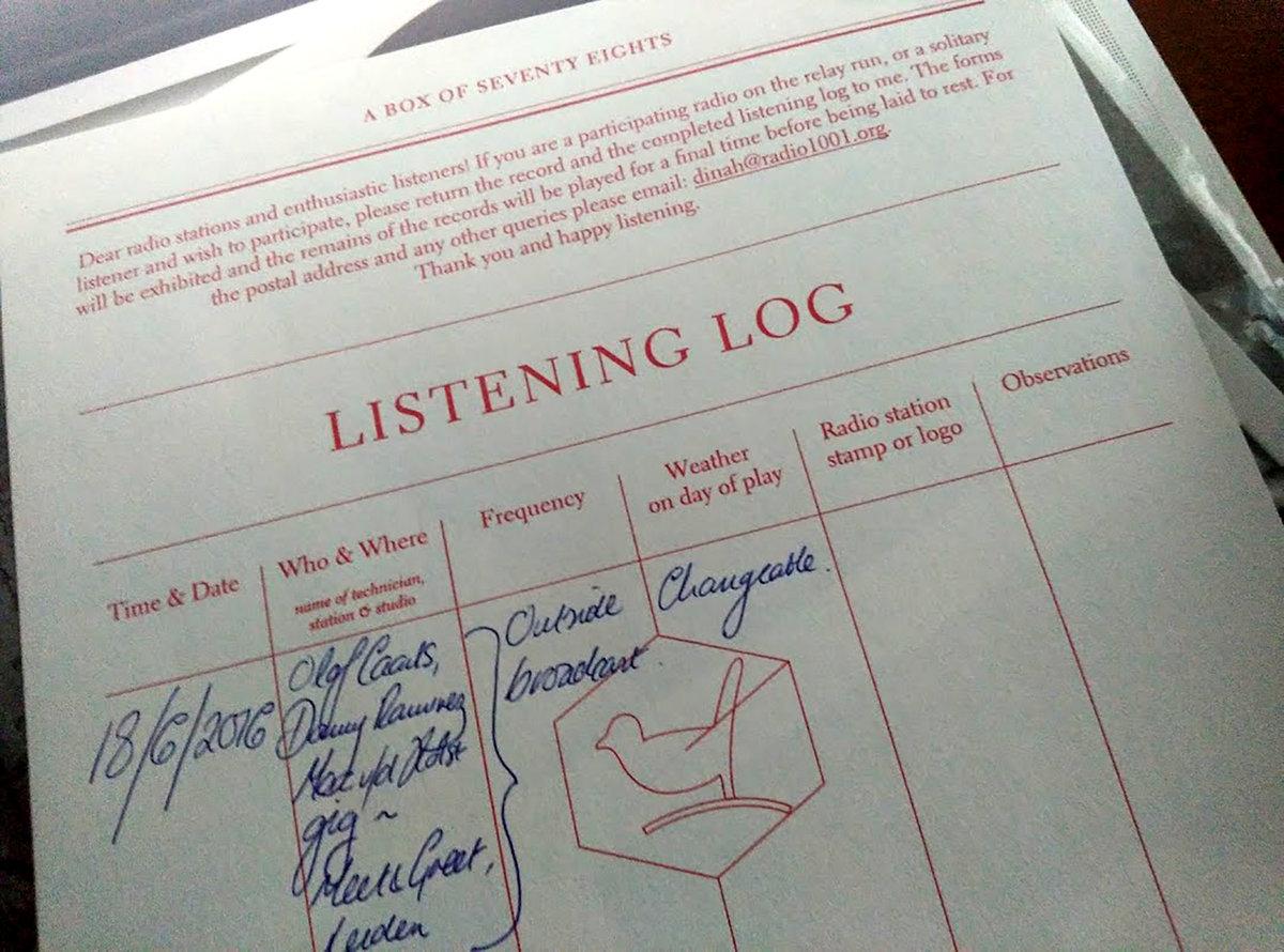 Dinah Bird - Box of 78s Recording